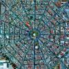 ここがどこか分かるか?衛星写真がとらえた地上の街。