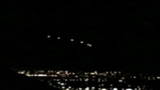 米カリフォルニアに出現したV字型の雲。「フェニックス・ライト」か!?