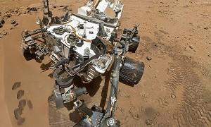 """火星で働く""""ノーヘルの作業員""""の影が激写される!? 髪の毛までクッキリ!"""