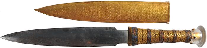 ツタンカーメンのナイフは「地球外物質」で作られていた。エジプト人は地球外のものと知った上で使用していた!?