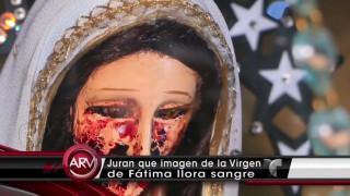マリア像の奇跡?!血の涙を流すマリア像=メキシコ